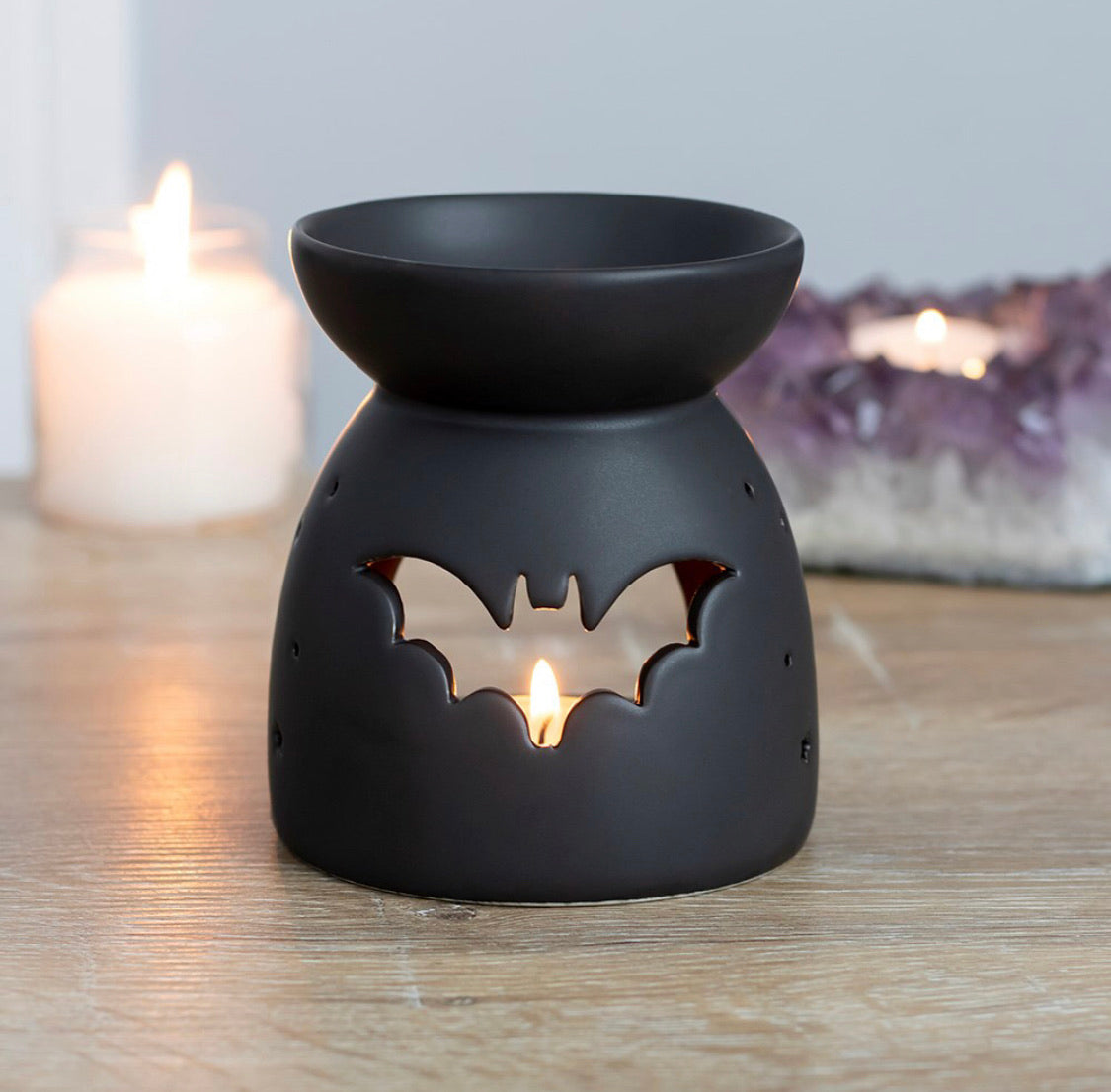 Bat Cut Out Oil Burner