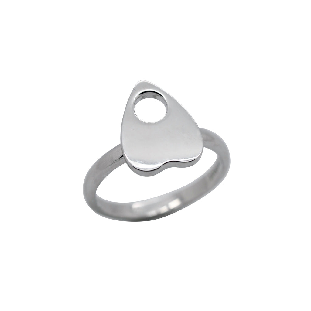 Sterling Silver Ouija Planchette Ring