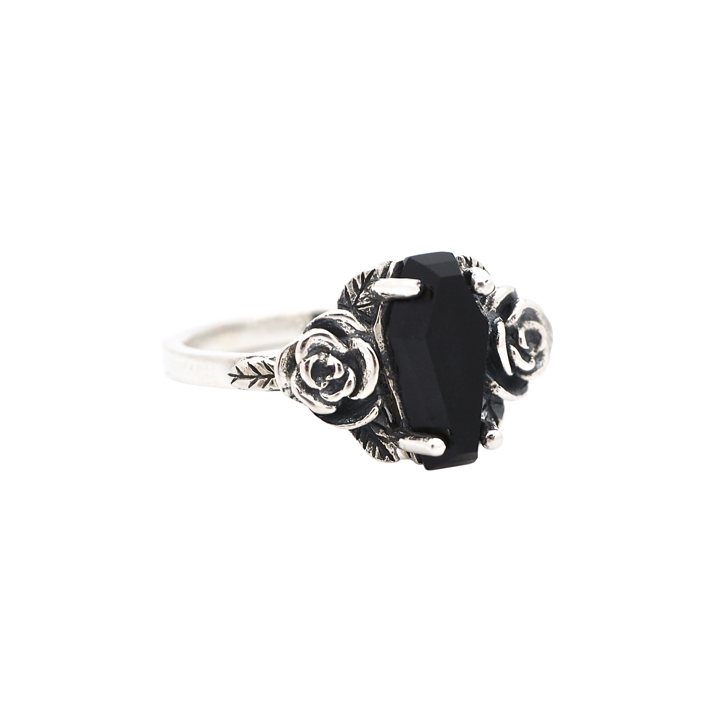 Black Onyx 'Buried Beneath The Roses' Ring