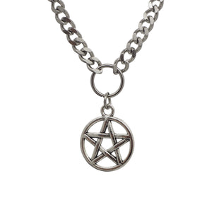Pentagram Chain Necklace