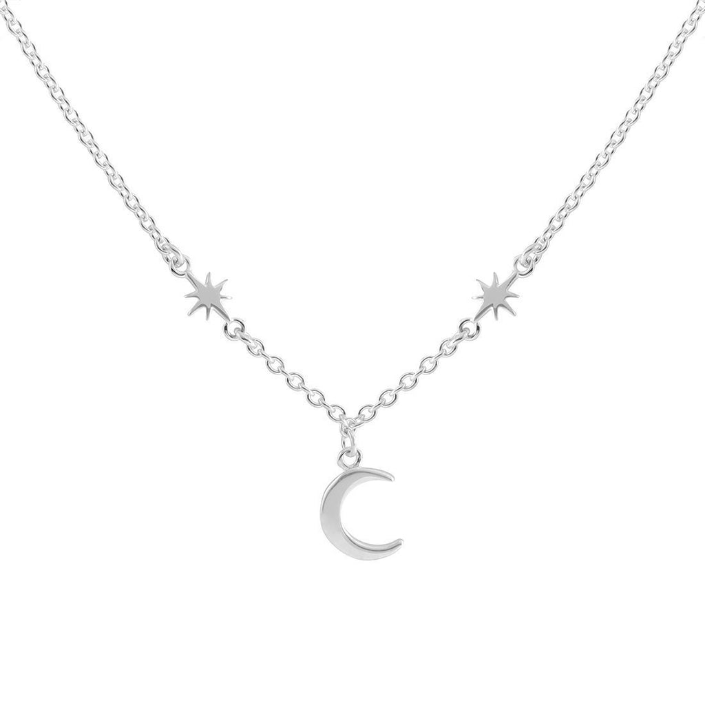 Sterling Silver Amongst The Stars Necklace