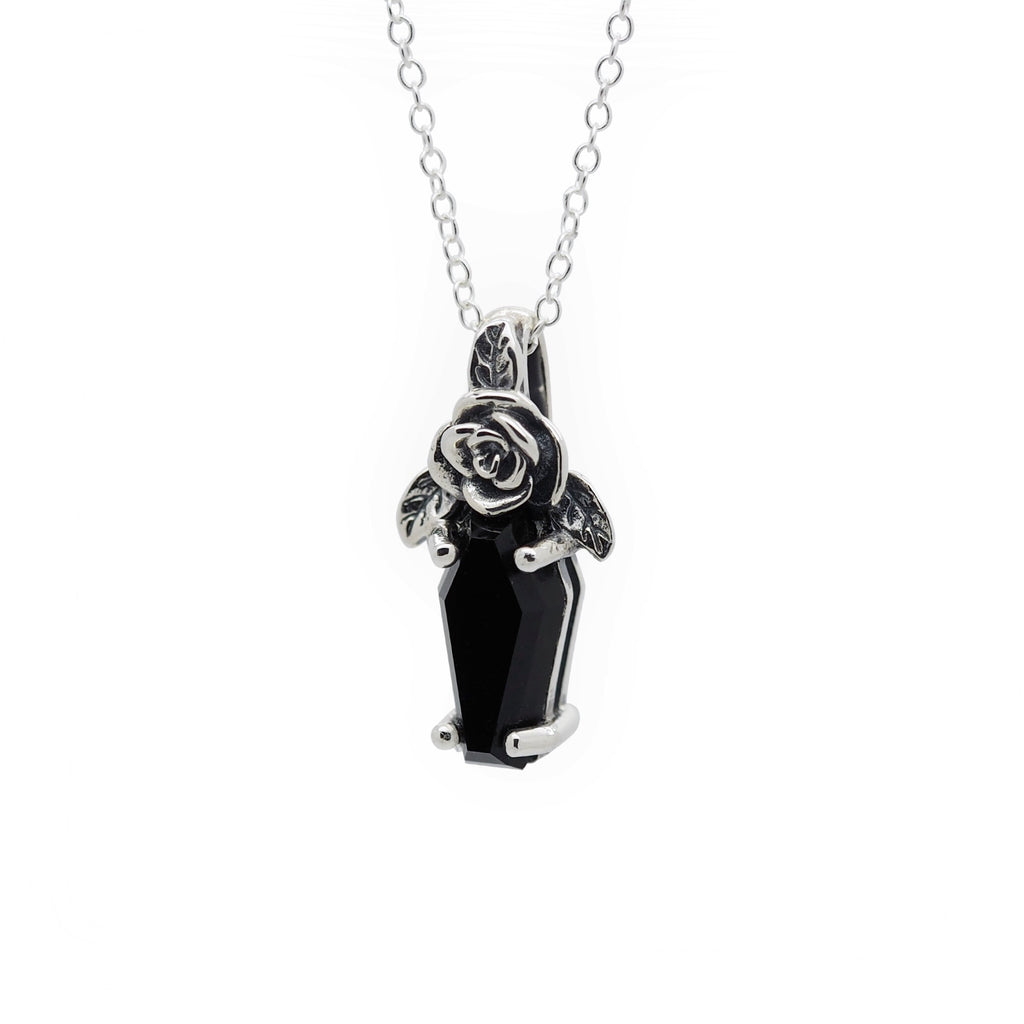 Sterling Silver Buried Beneath the Roses Necklace