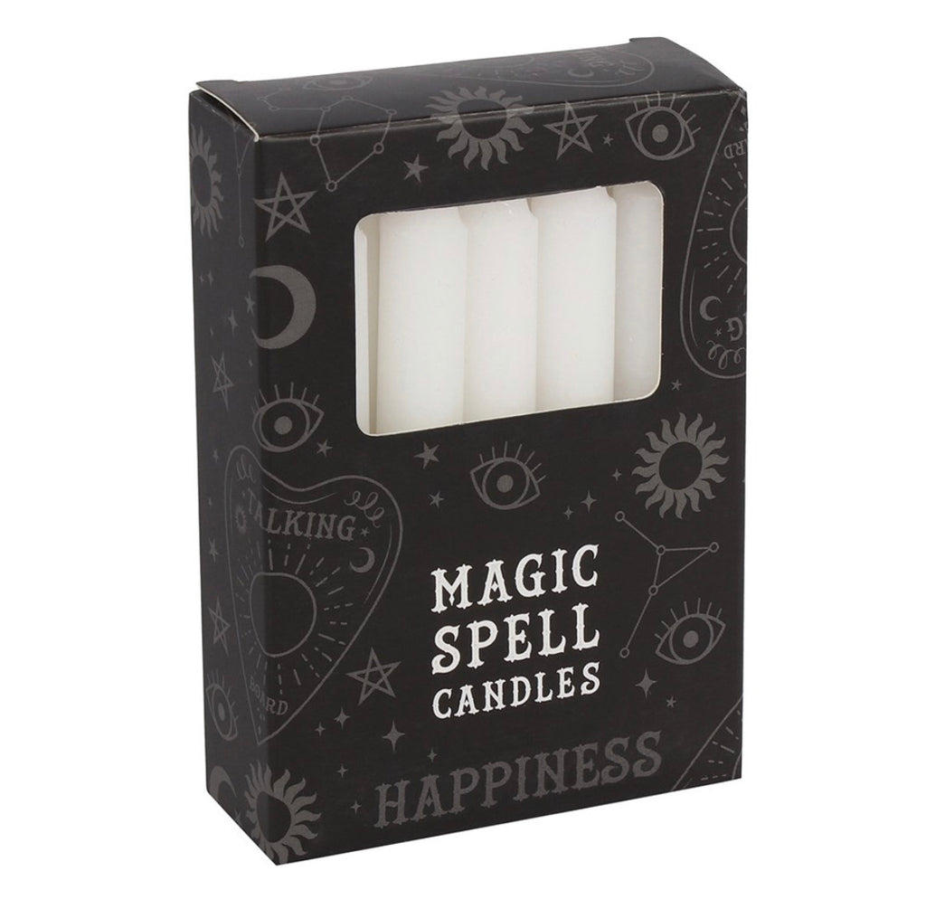 White 'Happiness' Spell Candles