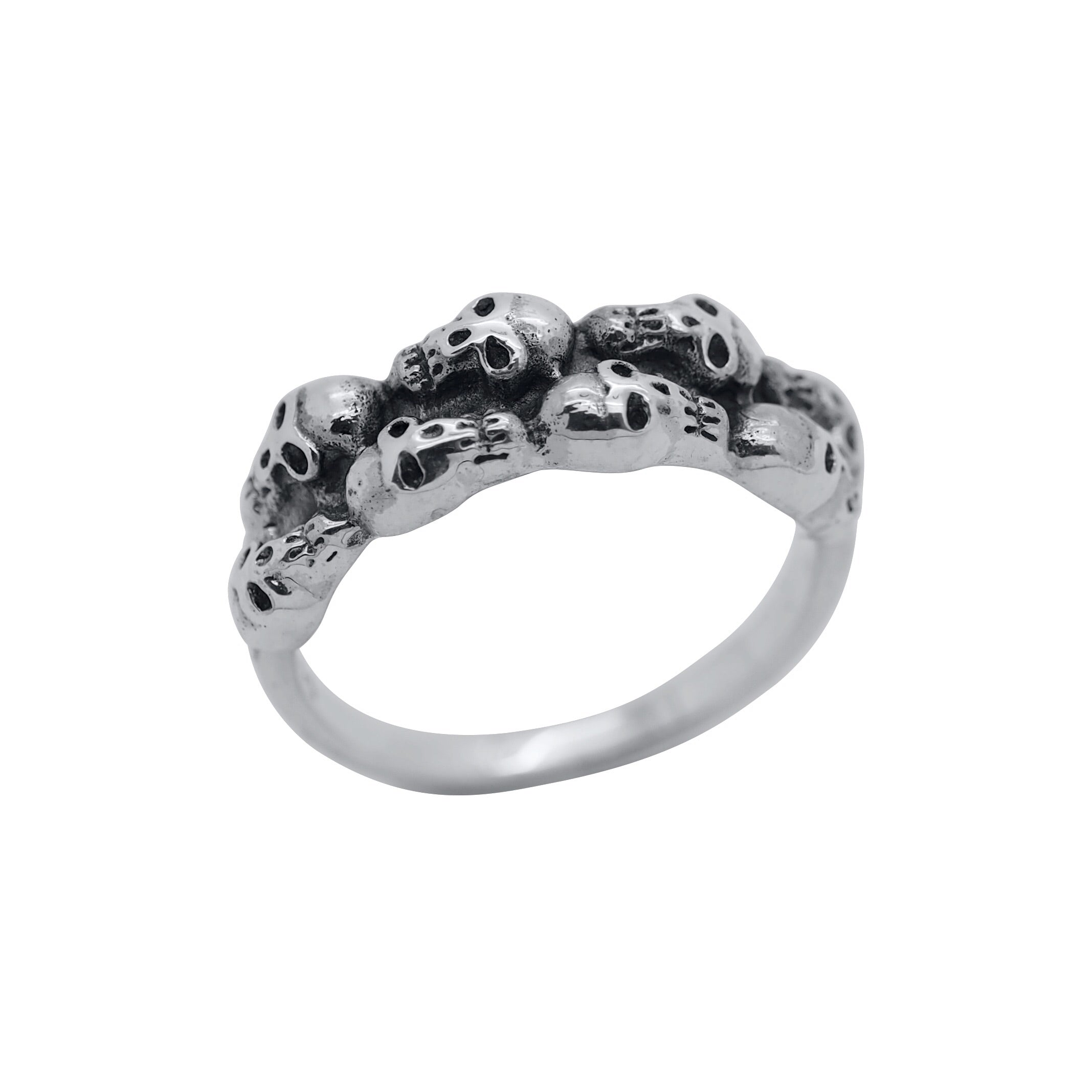Sterling Silver Catacomb Ring