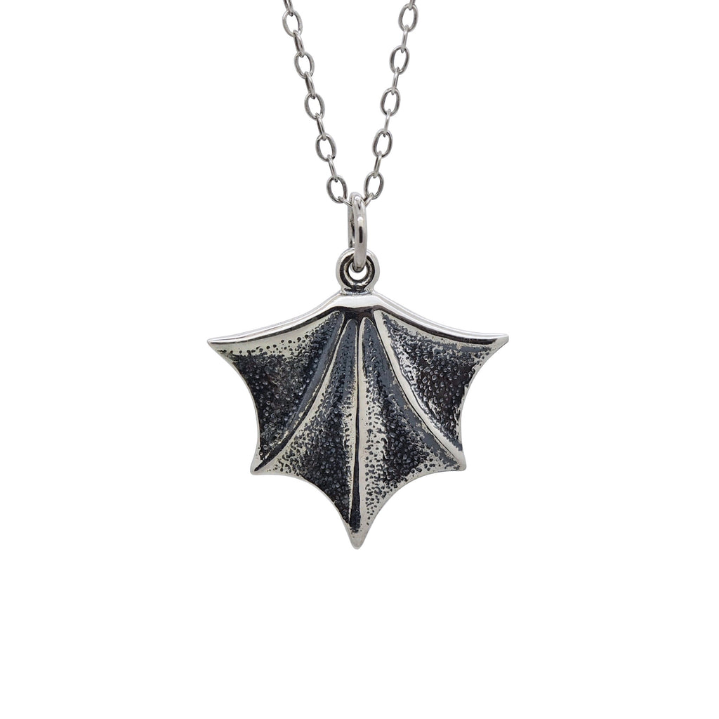 Sterling Silver Bat Wing Necklace
