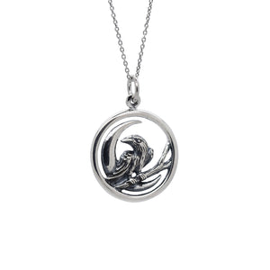 Sterling Silver Nevermore Necklace
