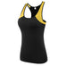 2018 Mesh Fitness Yoga Tops Breathable Sportswear Women T Shirt Suit Quick-Dry Running Sports Clothing Sleeveless Gym Yoga Vest,RedOphelia Leggings