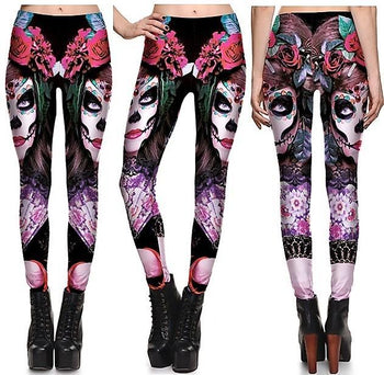 Beauty Monster Leggings #L1289,RedOphelia Leggings