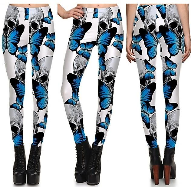 Butterfly Leggings #L1286,RedOphelia Leggings