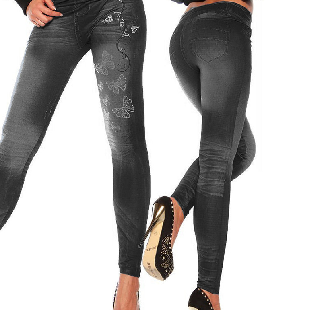 Classic Stretchy Slim Leggings Sexy Women Jean Skinny Jeggings Skinny Pants F05,RedOphelia.com