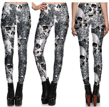 Dark Shadow Leggings #L1300,RedOphelia.com