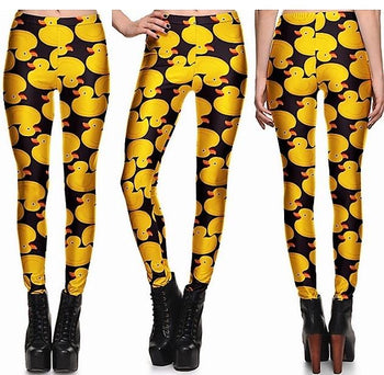Ducks Leggings #L1259,RedOphelia Leggings