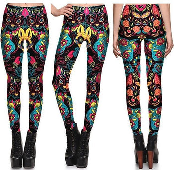Egyptian Cat Leggings #L1298,RedOphelia Leggings