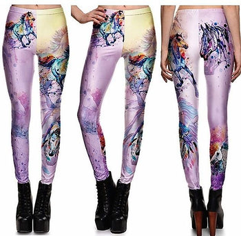 Gradient Horse Leggings