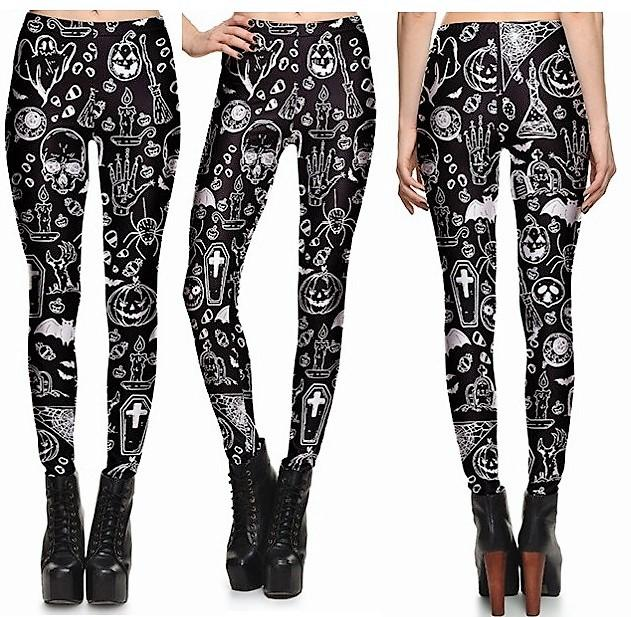 Halloween Leggings #L1201,RedOphelia Leggings