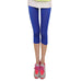 Sexy Solid colorful Women Summer smooth Silk Leggings capris High Stretched Jeggings Fitness Pants Ballet Cropped Trousers red,RedOphelia.com