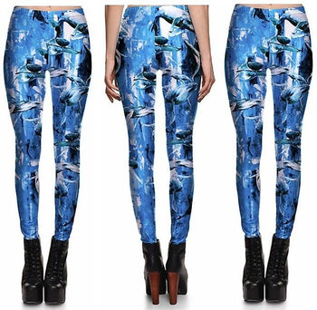 Vintage Dolphin Leggings #L1310,RedOphelia Leggings