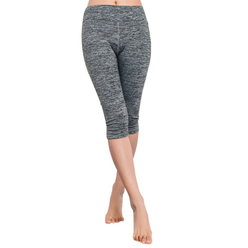 Women High Waist Capri Casual Pants Leggings Fitness Trousers US YRD,RedOphelia.com