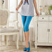 Women's Casual Seamless Tights Capri  Workout Pants,RedOphelia.com