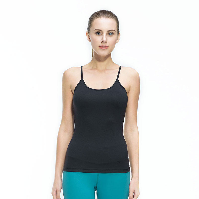 Women Fitness Gym Sports Yoga Vest Sexy Sleeveless Shirts Running Clothes with Breathable Quick Dry Spandex Tank tops,RedOphelia.com