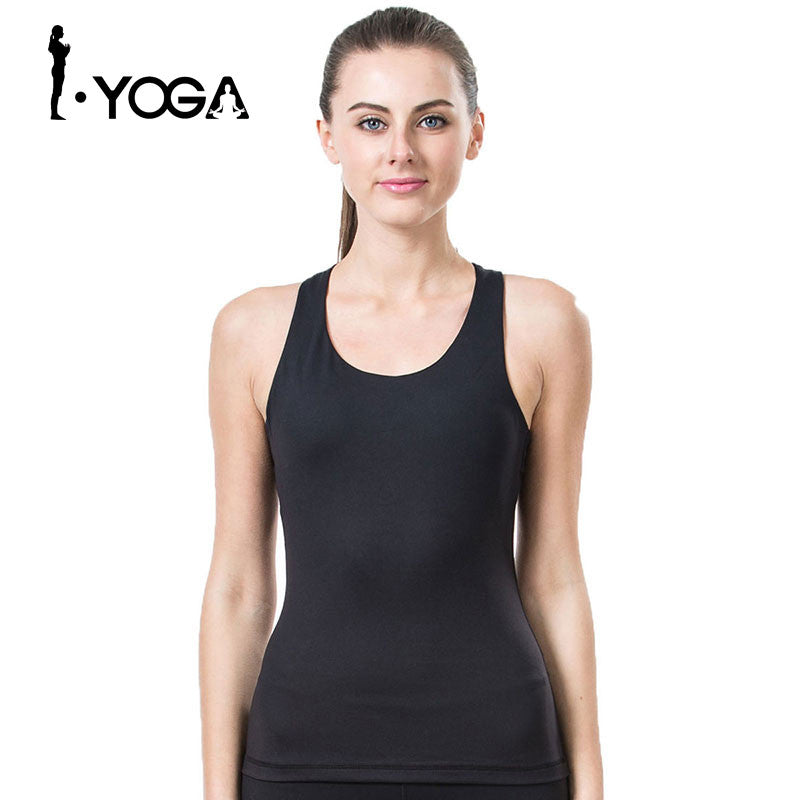 Fitness Yoga Shirts Women Breathable Fitness Women Sports Shirts Running Jogging Gym Running Tank Top Sexy Elastic Vest,RedOphelia.com