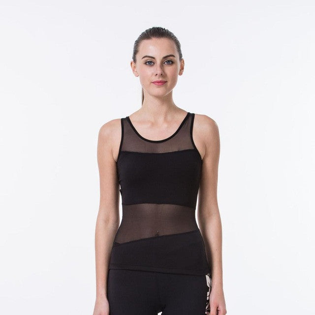Women'S Yoga T-Shirt Yoga Woman Sleeveless Yoga Tank Tops Tights Sports Tops Fitness Shirt Women Quick Dry Running Shirts,RedOphelia.com