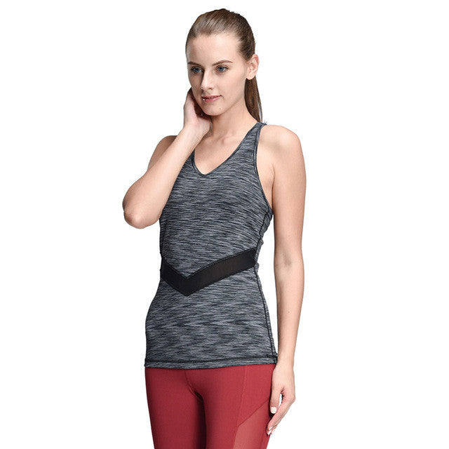 Women Yoga Vest Shirt Sleeveless Dyeing Running Tops Fitness Vest for Gym Jogging Yoga Vest Woman Plus Size,RedOphelia.com