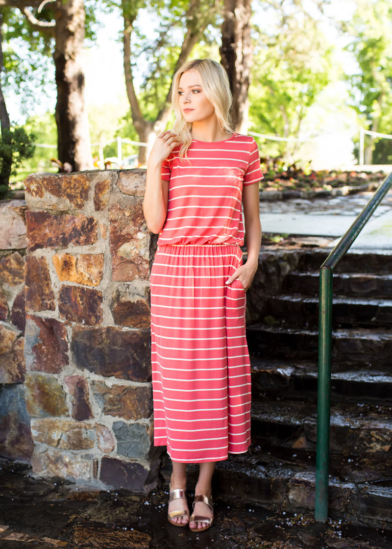 Everyday Striped Dress - Sparrow Noir