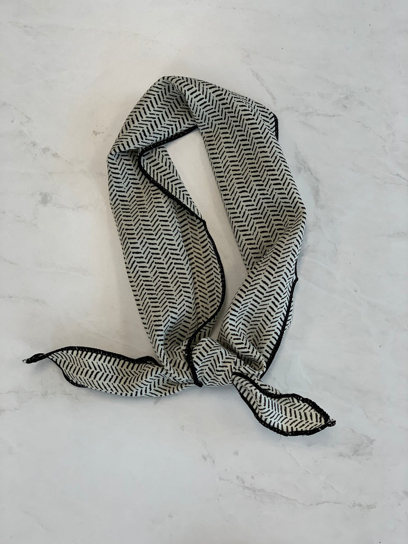 Hair Wrap/Neckerchief - Sparrow Noir