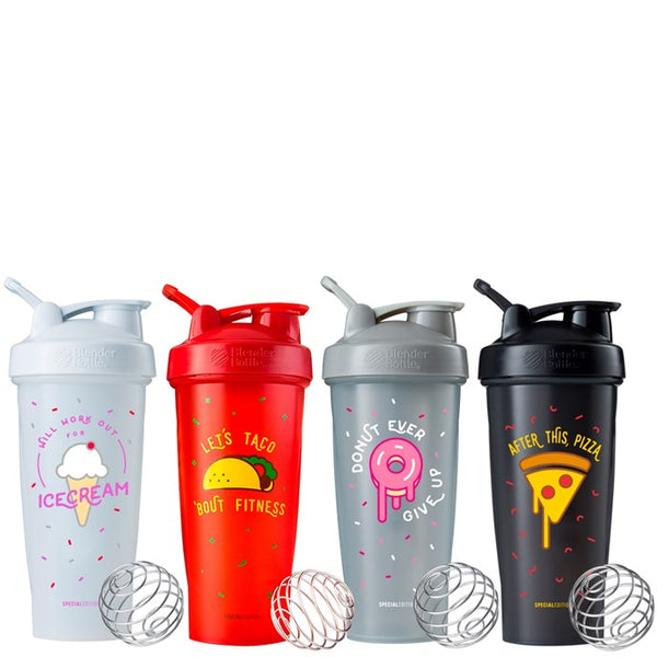 Just For Fun Blender Bottles - Sparrow Noir