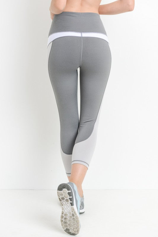 Colorblock Leggings - Sparrow Noir