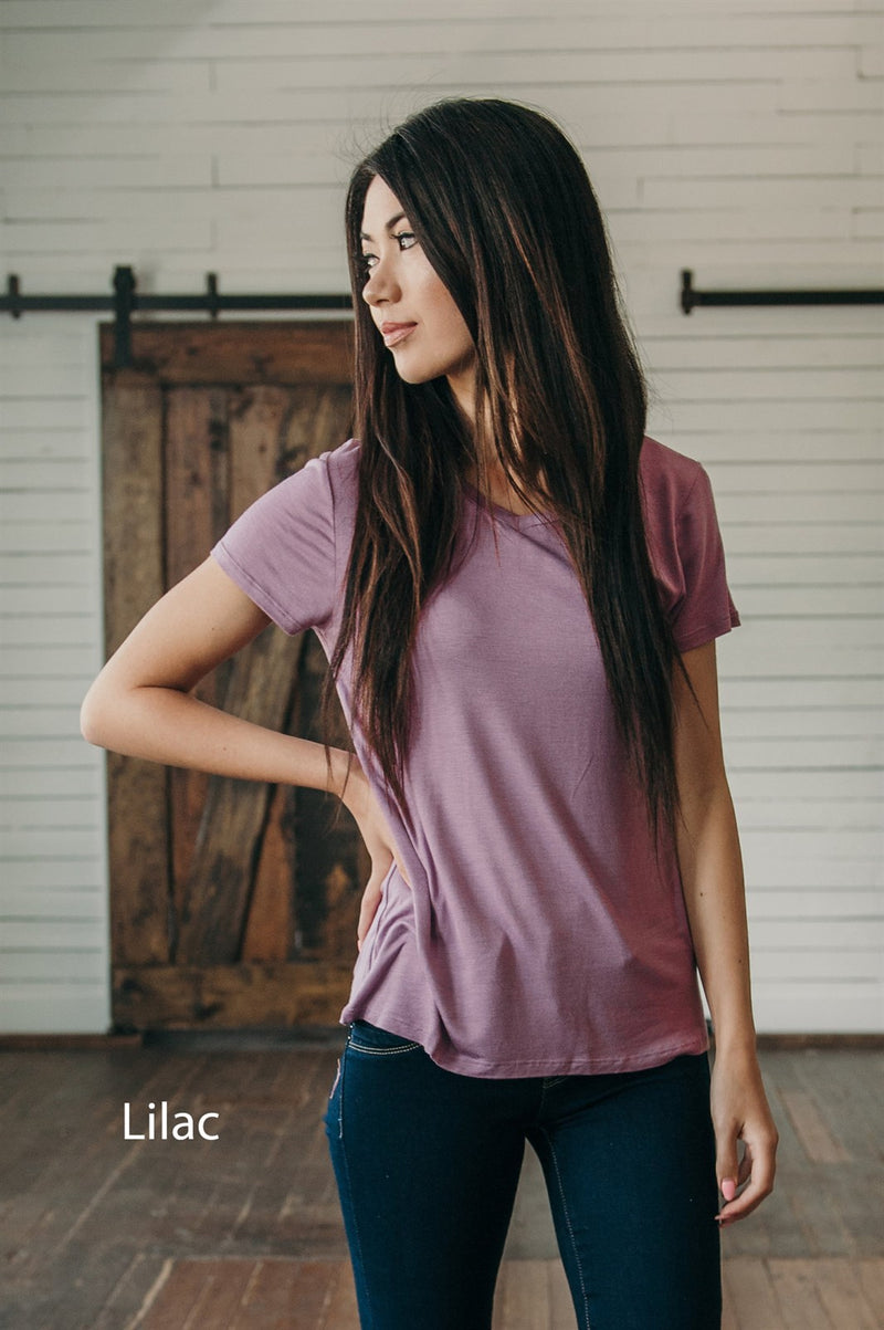 Softest Soft Tee - Sparrow Noir