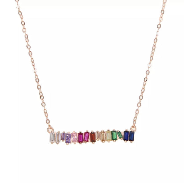 Rainbow Dream Necklace - Sparrow Noir