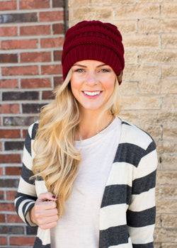 Everest Knit Beanie - Sparrow Noir