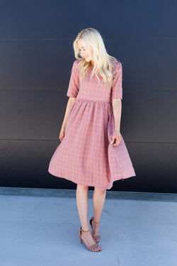 Pink Crossroads Dress - Sparrow Noir
