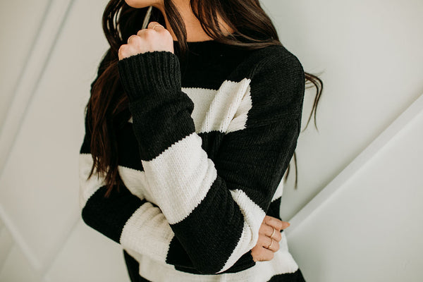 Abby Lane Sweater - Sparrow Noir