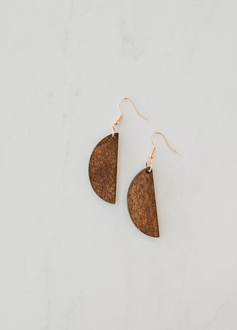 Down to Earth Earrings - Sparrow Noir
