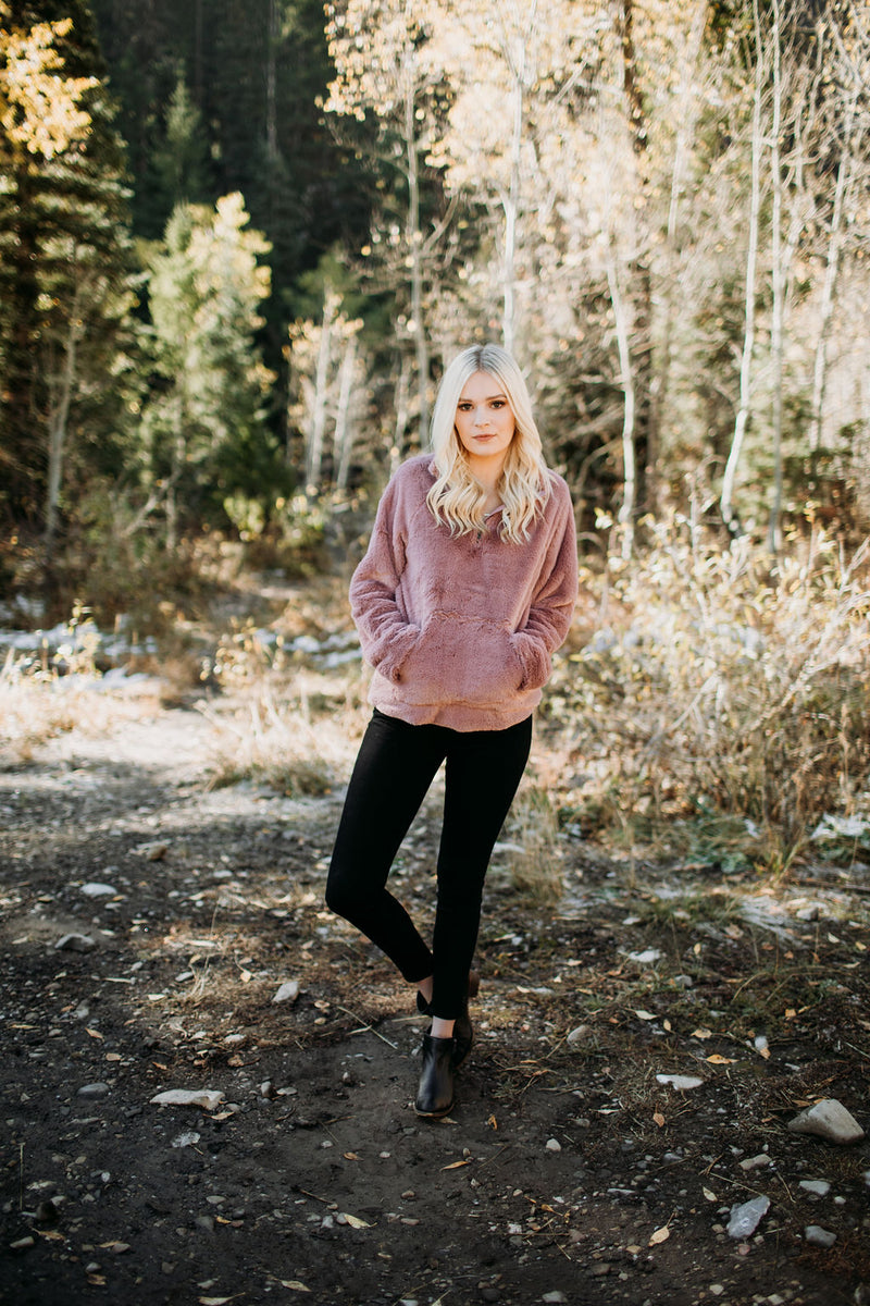 Oh So Cozy Pullover - Sparrow Noir