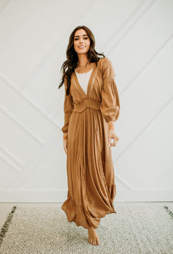 Butterscotch Maxi Dress - Sparrow Noir
