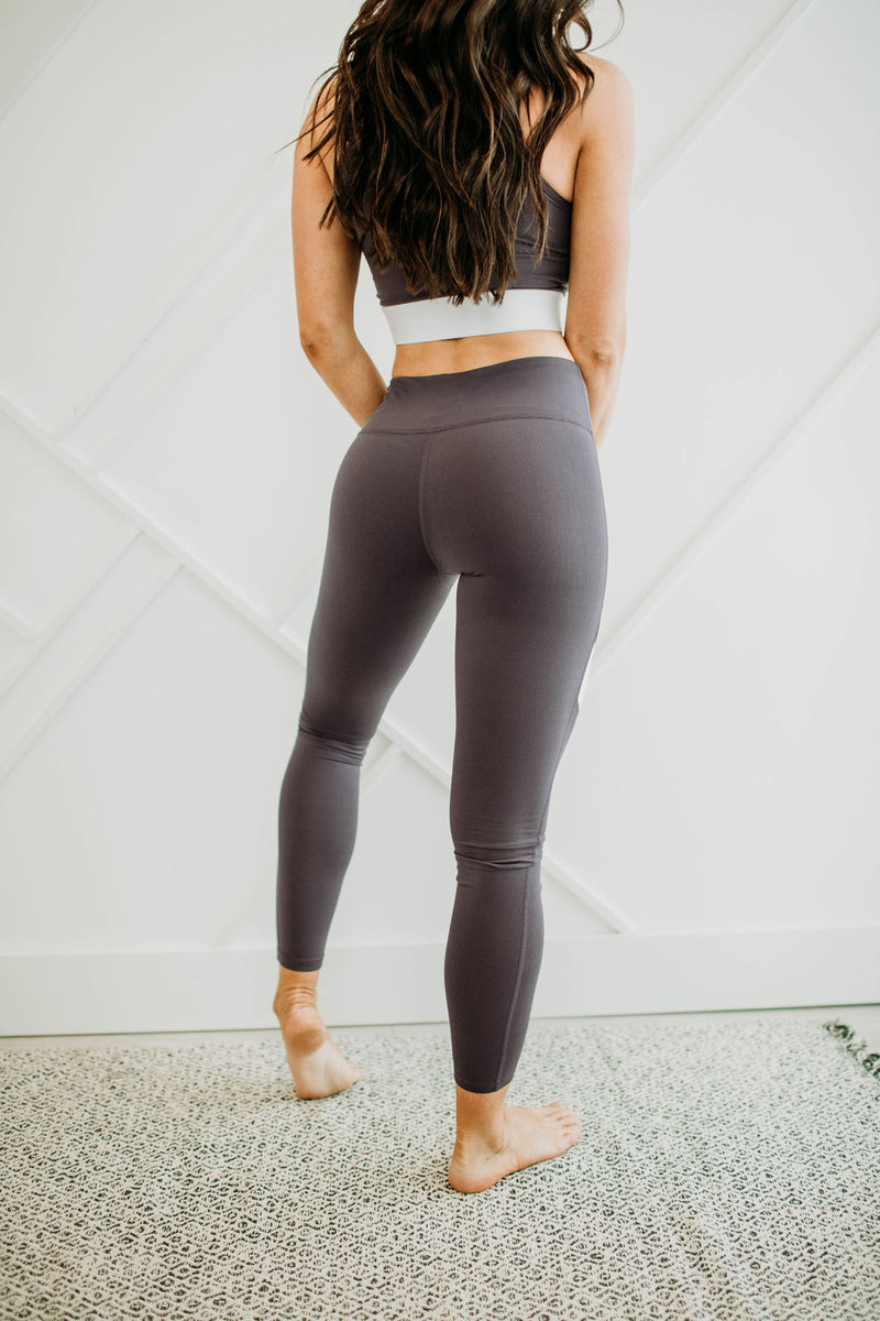 Plum Perfect Legging - Sparrow Noir