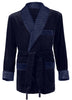 Navy Smoking Jacket