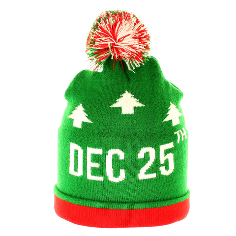 December 25th Beanie - Beanies USA