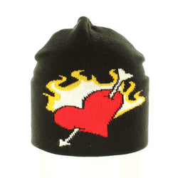 Heart and Arrow Beanie - Beanies USA