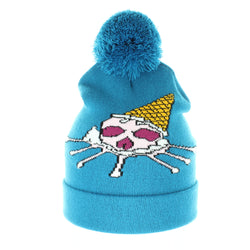 Ice Cream Skull Beanie - Beanies USA