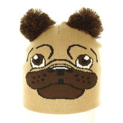 The Pug Beanie - Beanies USA