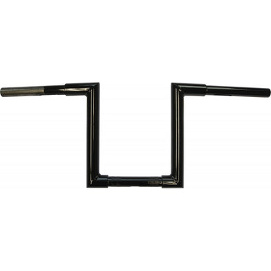"1.25"" NARROW Z-BARS WEB 10"" TALL BLACK HD"