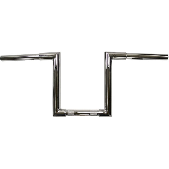 "1.25"" NARROW Z-BARS WEB 10"" TALL CHROME HD"