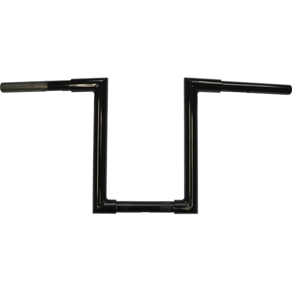 "1.25"" NARROW Z-BARS WEB 12"" TALL BLACK HD"