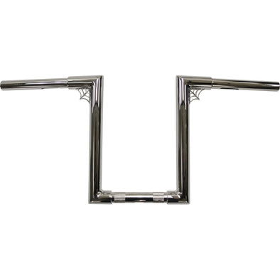 "1.25"" FAT NARROW Z-BARS WEB 12"" TALL CHROME HD"