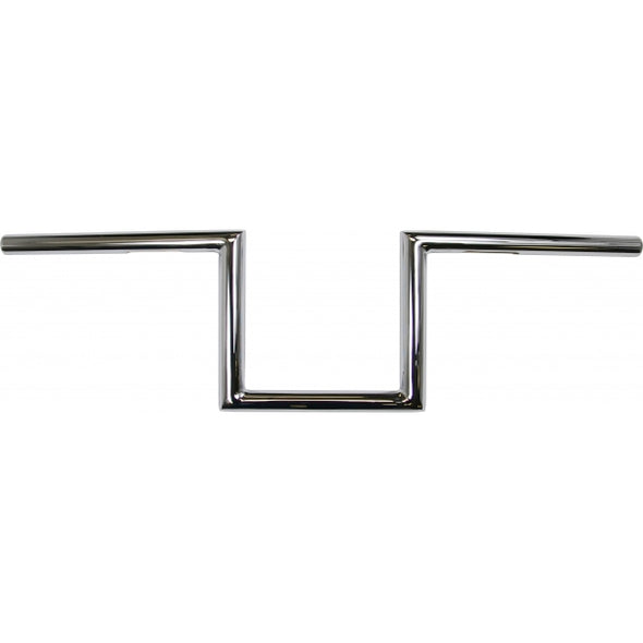 "1"" NARROW Z-BARS 6"" RISE CHROME UNIVERSAL"